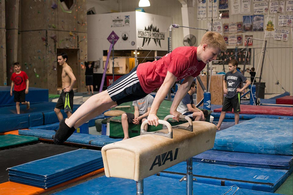 Kansas City Boys Gymnastics Team Emerald City Gymnastics